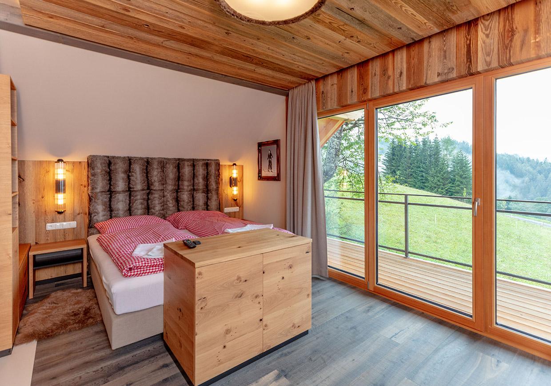 panorama chalet, luxus, berge, übernachtung, million dollar blick, baumschlagerberg, hochzeit, flitterwochen