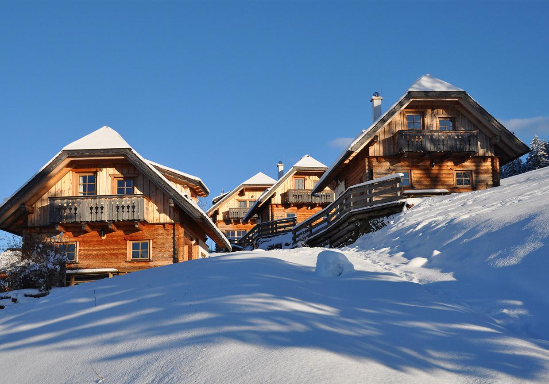 almresorthütte, hüttenurlaub, urlaub in den bergen, baumschlagerberg, vorderstoder, winterurlaub